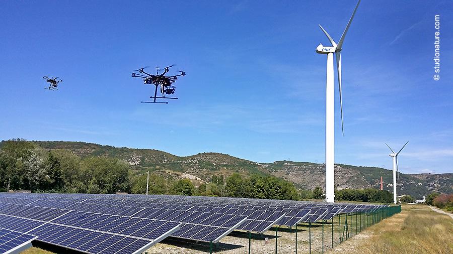 Photographe Lozère  - Photo vidéo drone © StudioNature.com