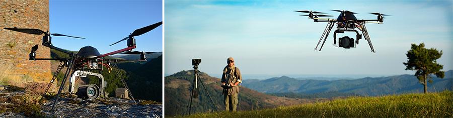 Photo video drone en Lozère - Studionature.com