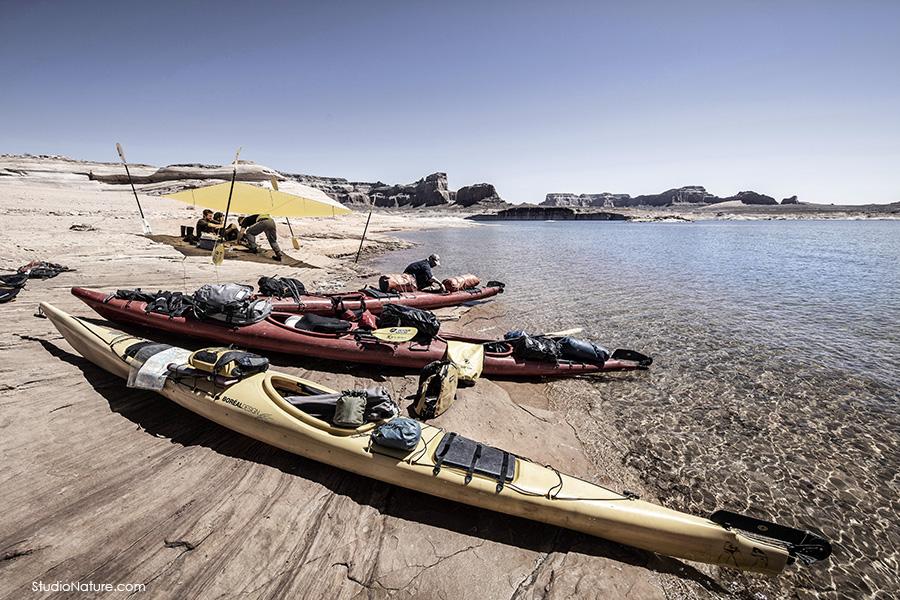 Kayak au Lac Powell - StudioNature.com