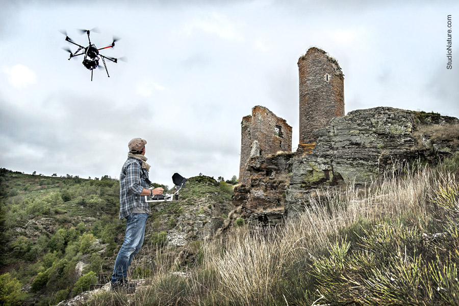 Travail Drone Lozère