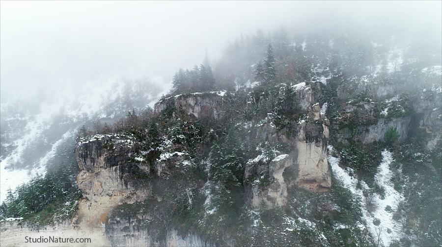 Gorges du Tarn hiver