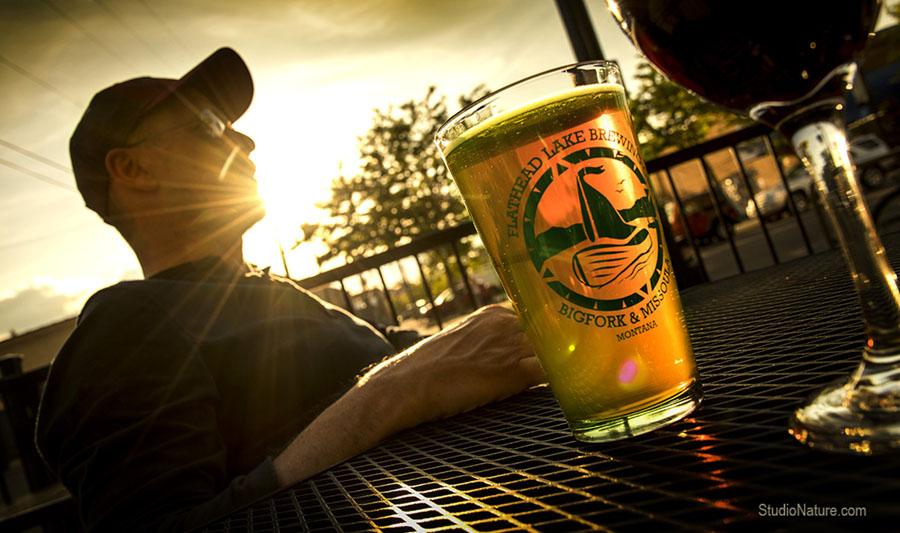 Biere en terrasse